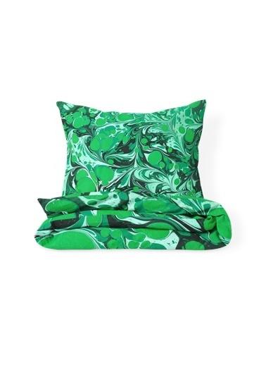 Helen George Mystic Tek Kişilik Nevresim Takımı Yeşil